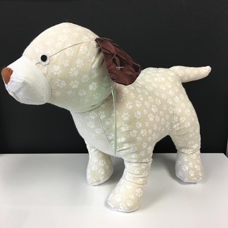 Dog - Cream Paw Prints