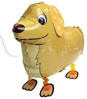 Dog Foil Balloon