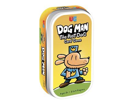 Dog Man The Hot Dog Tin