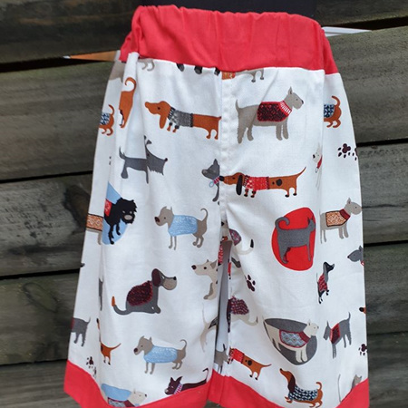 Dog Shorts Size 5