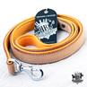 Rogue Royalty Classic Padded Buckskin Leather Leash