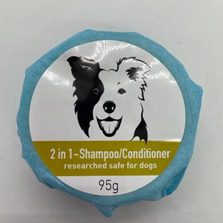 Dogs 2 in 1 Shampoo Conditioner Bar