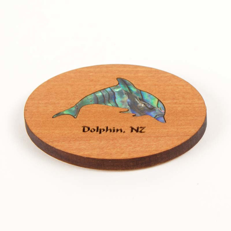 dolphin fridge magnet
