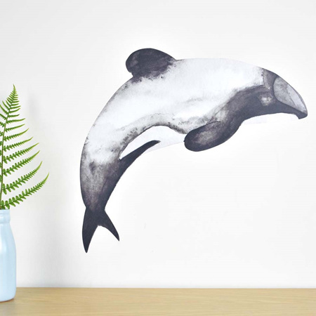 Dolphin wall decal