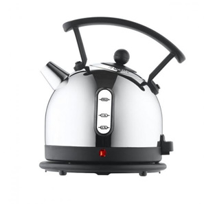 Dome Kettle - Satinless Steel, Black