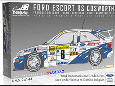 Domino (Tamiya) 1/24 Ford Escort RS Cosworth Limited Edition!
