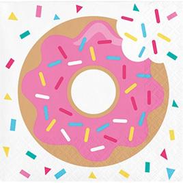 Donut Time beverage napkins