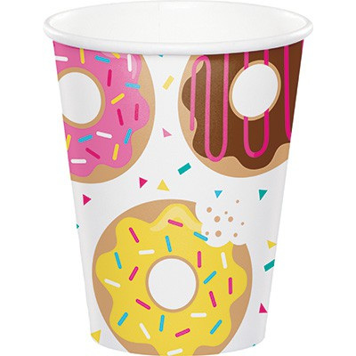 Donut Time cups x 8