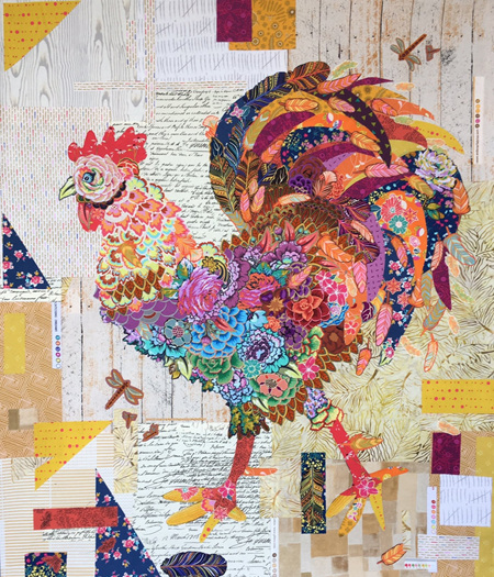 Doodle Doo Rooster by Laura Heine
