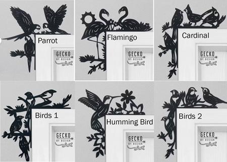 Door Trims - Birds