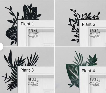 Door Trims - Plants