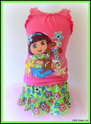 """Dora Fab Flowers"" set"