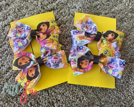 Dora Hair Bows