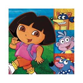 Dora napkins x 16 pack 2ply