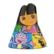 Dora - Party Hats