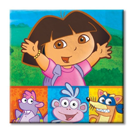 Dora Party Napkins (16)