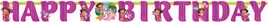 Dora the Explorer Add a letter Birthday Banner