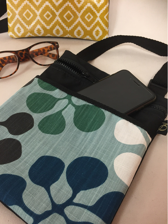 Dory handbag made in NZ out of designer fabric