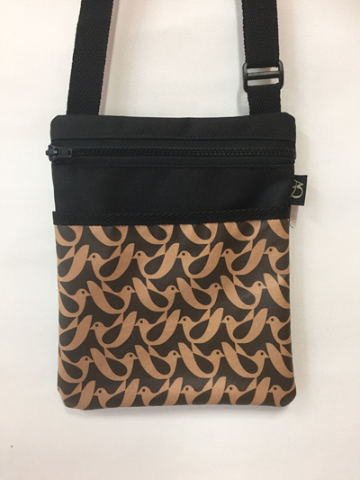 Dory Medium - laminated brown bird