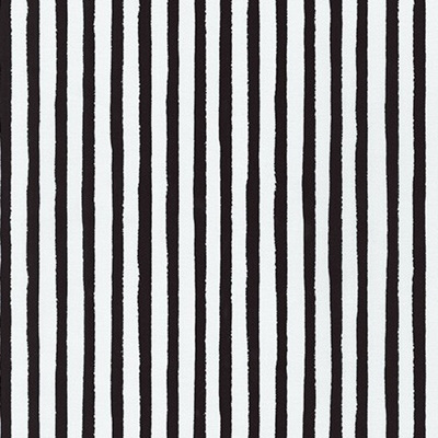 Dot & Stripe Delight - Black Stripe