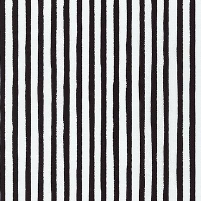 Dot & Stripe Delight - Black Stripe