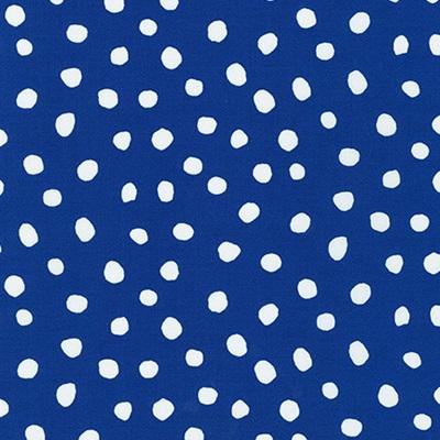 Dot & Stripe Delight - Blue Dot
