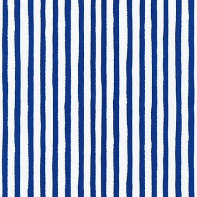 Dot & Stripe Delight - Blue Stripe