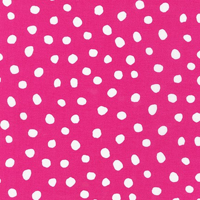 Dot & Stripe Delight - Bright Pink Dot