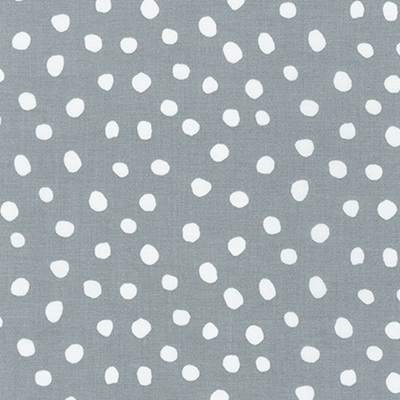 Dot & Stripe Delight - Grey Dot