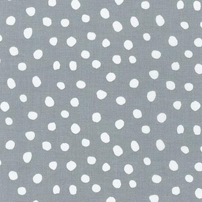 Dot & Stripe Delight - Grey Dot