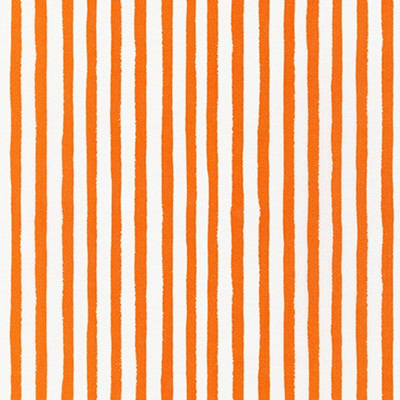 Dot & Stripe Delight - Orange Stripe