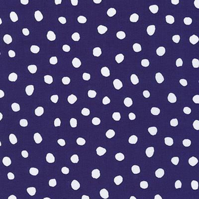 Dot & Stripe Delight - Purple Dot