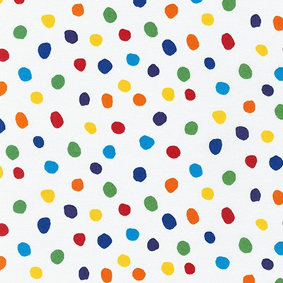 Dot & Stripe Delight - Rainbow Dot