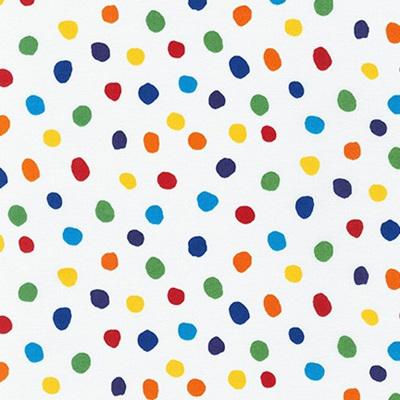 Dot & Stripe Delight - Rainbow Dot