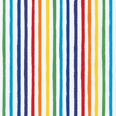 Dot & Stripe Delight - Rainbow Stripe