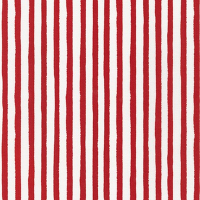Dot & Stripe Delight - Red Stripe