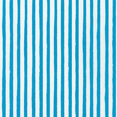 Dot & Stripe Delight - Turquoise Stripe