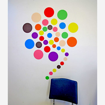 Hundreds and Thousands wall decal
