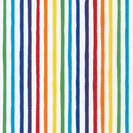 Dots and Stripes Delights Rainbow 19936-263