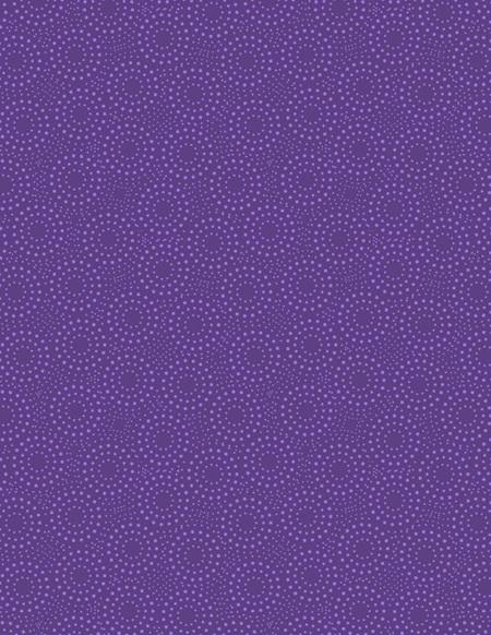Dotted Circles Dark Purple 39134-660