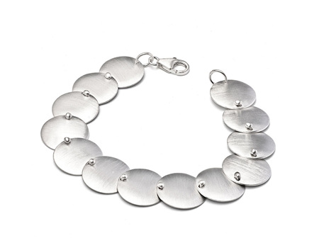 Dotted Disc Bracelet