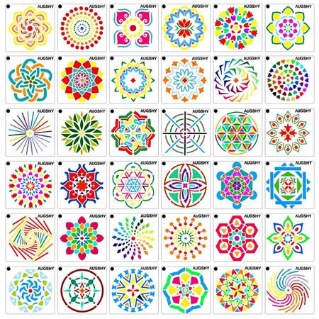 Dotting Stencils - Mini Set