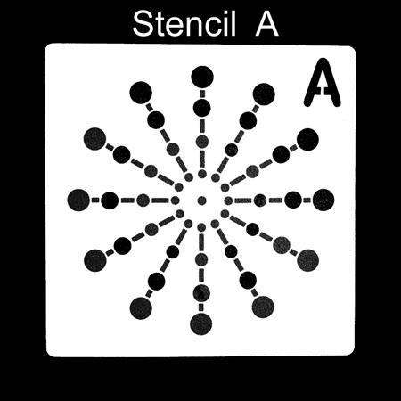 Dotting Stencils - Singles