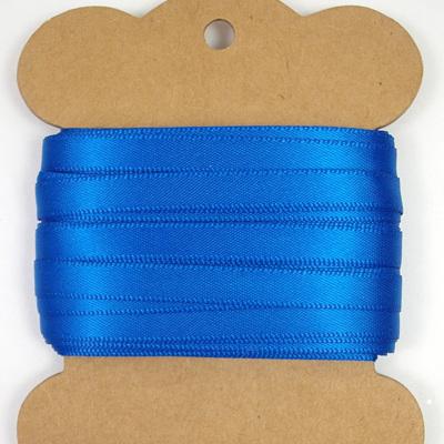 Double-Sided Satin Ribbon: Cobalt Blue