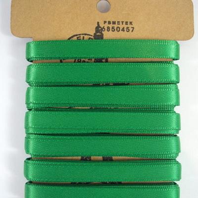 Double-Sided Satin Ribbon: Emerald Green