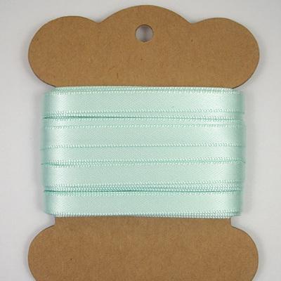 Double-Sided Satin Ribbon: Ice Green