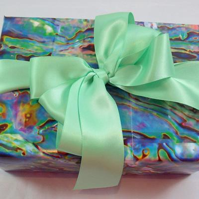 Double-Sided Satin Ribbon: Mint Green