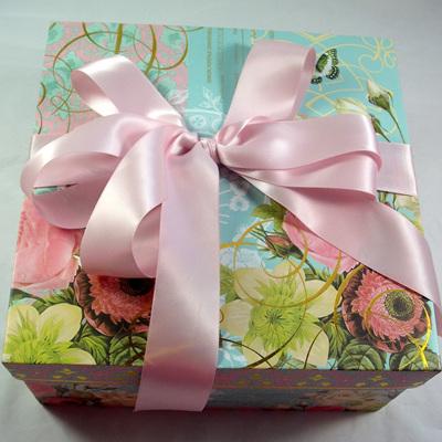 Double-Sided Satin Ribbon: Powder Pink