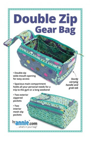 Double Zip Gear Bag by Annie