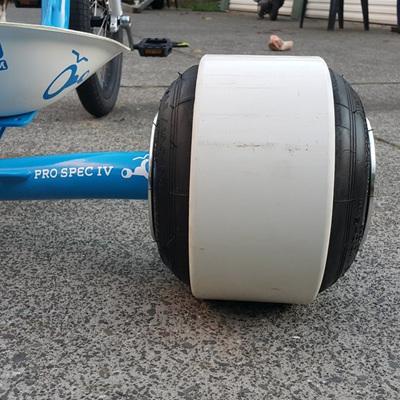 """Rear Wheels - 7 & 8"""" Stretch combo"""